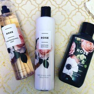 New Bath & Body Works Rose